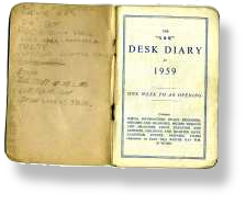 Saints & Sinners 1959 Band Diary.  Ray Thomas Moody Blues