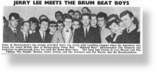 Gerry Levene and The Avengers wih Jerry Lee Lewis and various Brumbeat artists