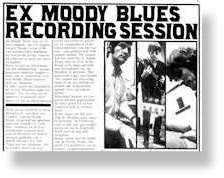 Moody Blues - Dutch article - Rod Clark