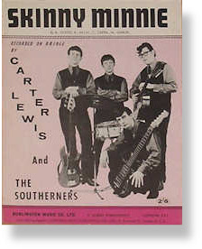 Carter Lewis & The Southerners - Skinny Minnie sheet music