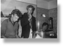 Justin Hayward and the Offbeats at The Corbiere Hotel, Jersey 1961
